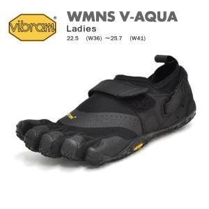 ビブラム ファイブフィンガーズ シューズ レディース ウィメンズ ブイアクア ブラック Vibram FiveFingers WMNS V-AQUA BLACK 18W7301 denpcy