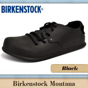 ビルケンシュトック サンダル メンズ レディース モンタナ ブラック BIRKENSTOCK MONTANA BLACK 199261 199263|denpcy
