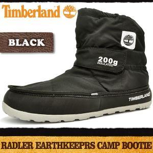 ティンバーランド ラドラー キャンプ ブーティ ブラック Timberland Radler Camp Bootie Black|denpcy