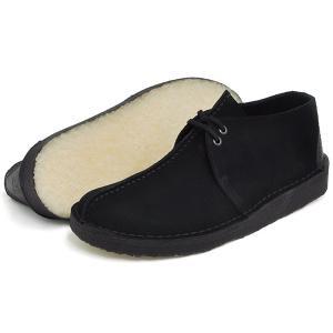 クラークス ブーツ メンズ デザートトレック ブラック スエード G(スタンダード)ワイズ Clarks DESERT TREK BLACK SUEDE G(STANDARD) 26113258|denpcy