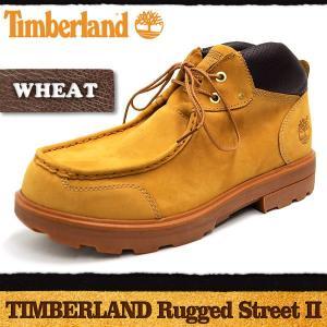 ティンバーランド ラギッドストリート2 チャッカブーツ ウィート Timberland Rugged Street II Chukka Boot|denpcy
