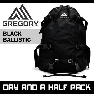 グレゴリー メンズ レディース デイアンドハーフパック ブラック バリスティック GREGORY DAY AND A HALF PACK BLACK BALLISTIC 65147-0440|denpcy