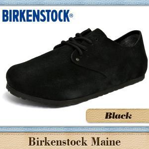 ビルケンシュトック サンダル メンズ レディース メイン ブラック BIRKENSTOCK MAINE BLACK 672241 672243|denpcy