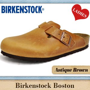 ビルケンシュトック サンダル レディース ボストン アンティーク ブラウンレザー BIRKENSTOCK BOSTON ANTIQUEBROWN 760891 denpcy