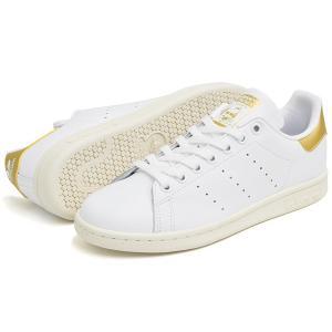 アディダス スニーカー レディース スタンスミス ホワイト/ゴールド/オフホワイト adidas STAN SMITH FTWWHT/MAGOLD/OWHITE AQ0439 denpcy