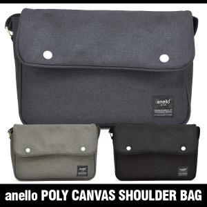 アネロ バッグ ポリキャンバス ショルダーバッグ anello POLY CANVAS SHOULDER BAG AT-N0441|denpcy