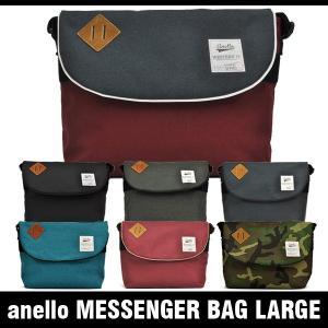 アネロ バッグ メッセンジャーバッグ ラージ anello MESSENGER BAG LARGE AU-A0132|denpcy