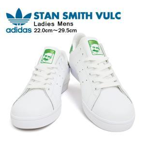 アディダス スニーカー メンズ スタンスミス バルカ ホワイト/ホワイト/グリーン adidas STAN SMITH VULC FTWWHT/FTWWHT/COGREEN B49618 denpcy