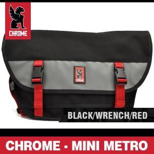 クローム バッグ ミニメトロ ブラック/レンチ/レッド CHROME MINI METRO BLACK/WRENCH/RED BG-001-BKWR-NA-NA|denpcy