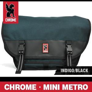 クローム バッグ ミニメトロ インディゴ/ブラック/シルバーバックル CHROME MINI METRO INDIGO/BLACK BG-001 INBK 2R NA|denpcy