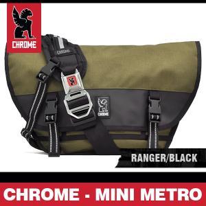 クローム バッグ ミニメトロ レンジャー/ブラック/シルバーバックル CHROME MINI METRO RANGER/BLACK BG-001 MLBK|denpcy