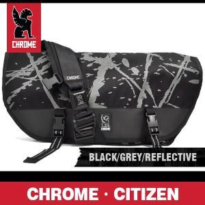 クローム シチズン ブラック/グレー/リフレクティブ CHROME CITIZEN BLACK/GREY/REFLECTIVE BG 002 BGRF NA NA|denpcy
