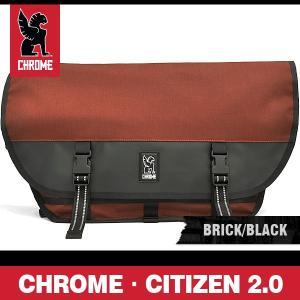 クローム バッグ シチズン 2.0 ブリック/ブラック/シルバーバックル CHROME CITIZEN 2.0 BRICK/BLACK BG-002 BRIK 2R NA|denpcy