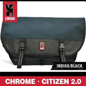 クローム バッグ シチズン 2.0 インディゴ/ブラック/シルバーバックル CHROME CITIZEN 2.0 INDIGO/BLACK BG-002 INBK 2R NA|denpcy