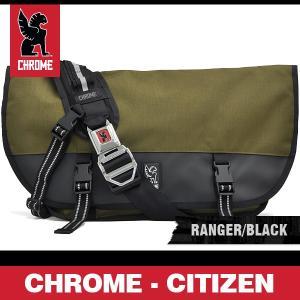 クローム バッグ シチズン 2.0 レンジャー/ブラック/シルバーバックル CHROME CITIZEN 2.0 RANGER/BLACK BG 002 MLBK|denpcy