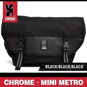 クローム バッグ ミニメトロ ブラック/ブラック/ブラックバックル CHROME MINI METRO BLACK/BLACK/BLACK BUCKLE BG-001-ALLB-2R-NA|denpcy