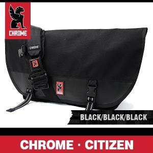 クローム バッグ シチズン ブラック/ブラック/ブラックバックル CHROME Citizen Black/Black/Black Buckle BG-002-ALLB-102-NA|denpcy