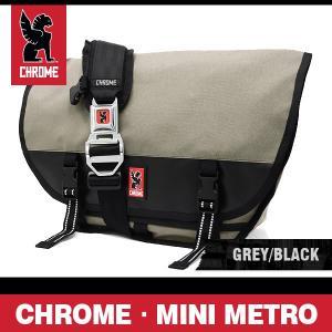クローム バッグ ミニメトロ グレー/ブラック/シルバーバックル CHROME Mini Metro Grey/Black/Silver Buckle BG-101-ALLB-101|denpcy