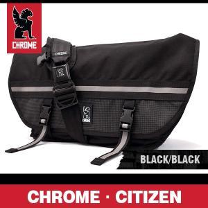 クローム バッグ シチズン ナイトシリーズ ブラック/ブラックバックル CHROME Citizen Night Series Black/Black Buckle BG-002-NITE-NA-NA|denpcy
