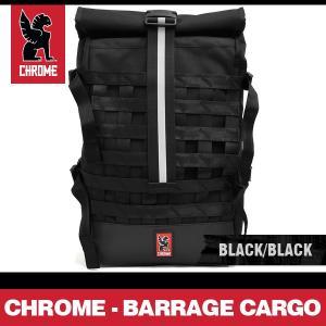 クローム リュック バラージカーゴ バックパック ブラック/ブラック CHROME BARRAGE CARGO BACKPACK BLACK/BLACK BG-163 BKBK|denpcy