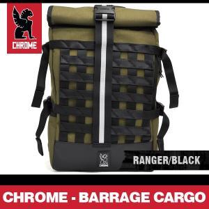クローム リュック バラージカーゴ バックパック レンジャー/ブラック CHROME BARRAGE CARGO BACKPACK RANGER/BLACK BG-163 MLBK|denpcy