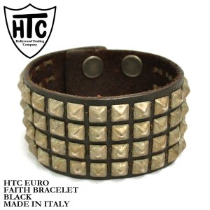 HTC フェイス ブレスレット ブラック Hollywood Trading Company FAITH BRACELET|denpcy