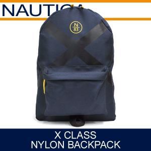 ノーティカ バッグ メンズ レディース Xクラス ナイロンバックパック ネイビー NAUTICA X CLASS NYLON BACKPACK NAVY NB0003|denpcy