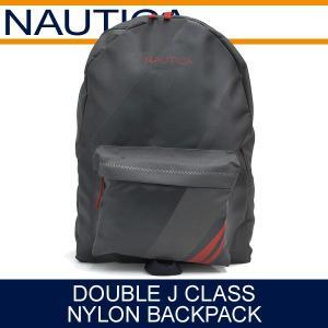 ノーティカ バッグ メンズ ダブルJクラス ナイロンバックパック チャコール NAUTICA DOUBLE J CLASS NYLON BACKPACK CHARCOAL NB0004|denpcy