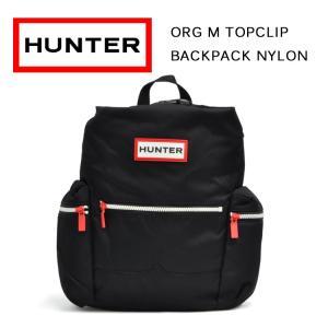 ハンター バッグ オリジナル トップクリップ ミニバックパック ナイロン ブラック HUNTER ORG M TOPCLIP BACKPACK NYLON BLACK UBB6018ACD BLK|denpcy