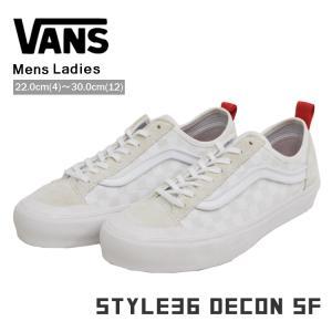 VANS バンズ スタイル36 ディーコン スニーカー メンズ レディース ホワイト ヴァンズ STYLE36 DECON SF VN0A3MVLVL8|denpcy