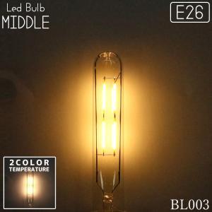 LED 2200K 3000K(ケルビン) ミドル型電球 4W E26口金 調光可能 型番BL003|denraiasia