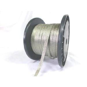 平編銅線 TBC3.5sq(錫メッキ平編銅線)