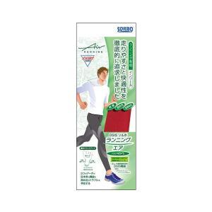 DSIS ソルボランニングエア メンズ レッド マラソン 靴 走る