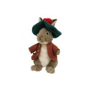 ピーターラビットのいとこで、大きな帽子が印象的なベンジャミン・バニーのぬいぐるみです。ピーターラビッ...