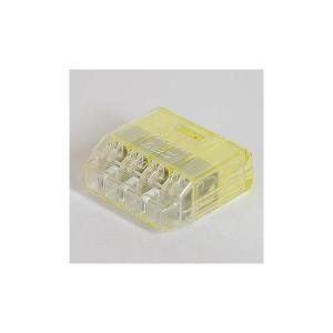 ニチフ QLX4 差込形電線コネクタ クイックロックコネクタ 極数4 50個入り densetu