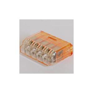 ニチフ QLX5 差込形電線コネクタ クイックロックコネクタ 極数5 50個入り densetu