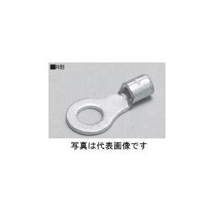 ニチフ R1.25-4 R形裸圧着端子 銅線用100個入|densetu