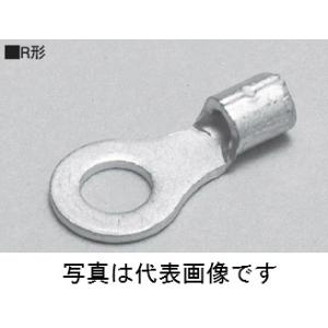 ニチフ R2-3 R形裸圧着端子 銅線用100個入|densetu