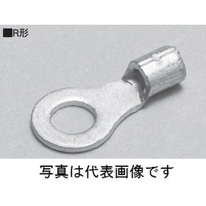 ニチフ R3.5-5L R形裸圧着端子 銅線用100個入|densetu