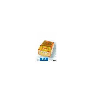 カワグチ P-3 トーメーコネクタ 3端子 50個入り densetu