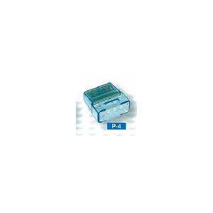 カワグチ P-4 トーメーコネクタ 4端子 50個入り densetu