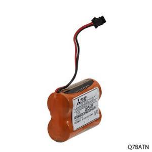 三菱電機 Q7BATN 交換用大容量バッテリ ※Q7BAT後継品 densetu