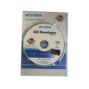 歳末ポイント3倍:三菱電機 SW8D5C-GPPW-J MELSOFT GX Developer Ver8 シーケンサプログラミングソフトウェア(日本語版) 標準ライセンス品|densetu