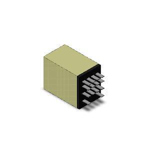 オムロンMY4N AC200/220V ミニパワーリレー 動作表示灯内蔵形4極|densetu