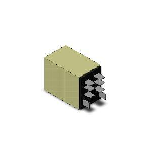 オムロン LY4N AC100/110V バイパワーリレー プラグイン端子 動作表示灯付4極