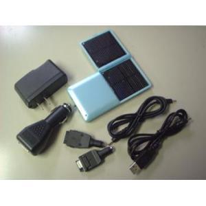 携帯電話用4WAYソーラーチャージャー|denshi