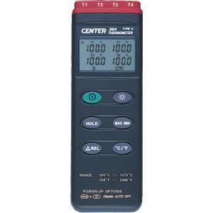 4チャンネルデジタル温度計304|denshi