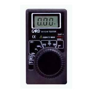 カードタイプデジタルマルチメーター|denshi