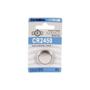 リチウムボタン電池 CR2450 3個 denshi