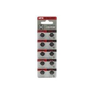 時計用電池LR43/AG12 10個 denshi